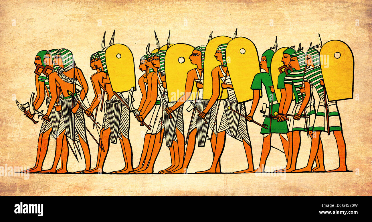 Ancient Egyptian Army Stock Photos & Ancient Egyptian Army Stock ...