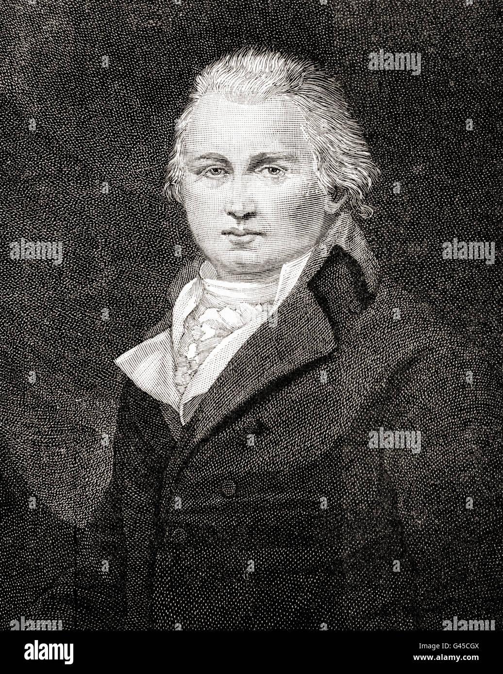 William Cobbett, 1763 – 1835.  English pamphleteer, farmer and journalist. - Stock Image