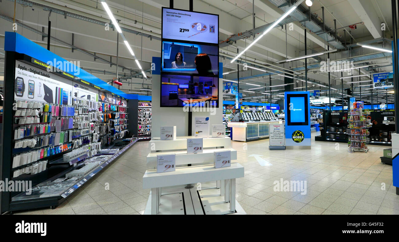 Europe germany hamburg media markt electronic appliances for Design outlet hamburg