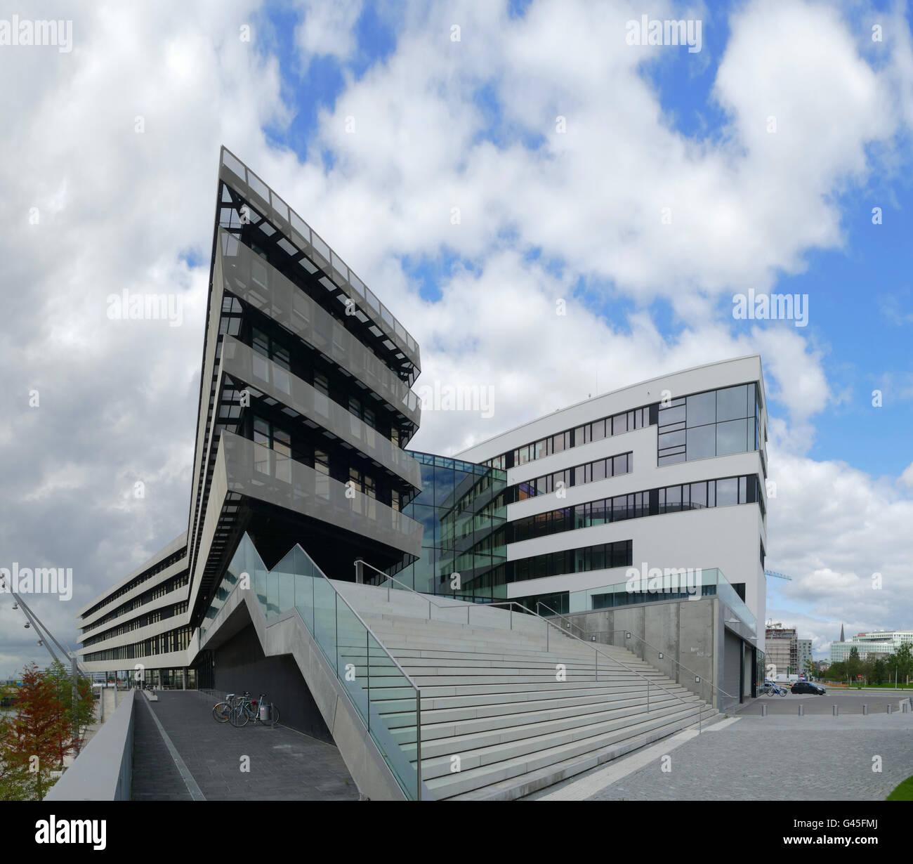 Europe Germany Hamburg  Hafencity university - Stock Image