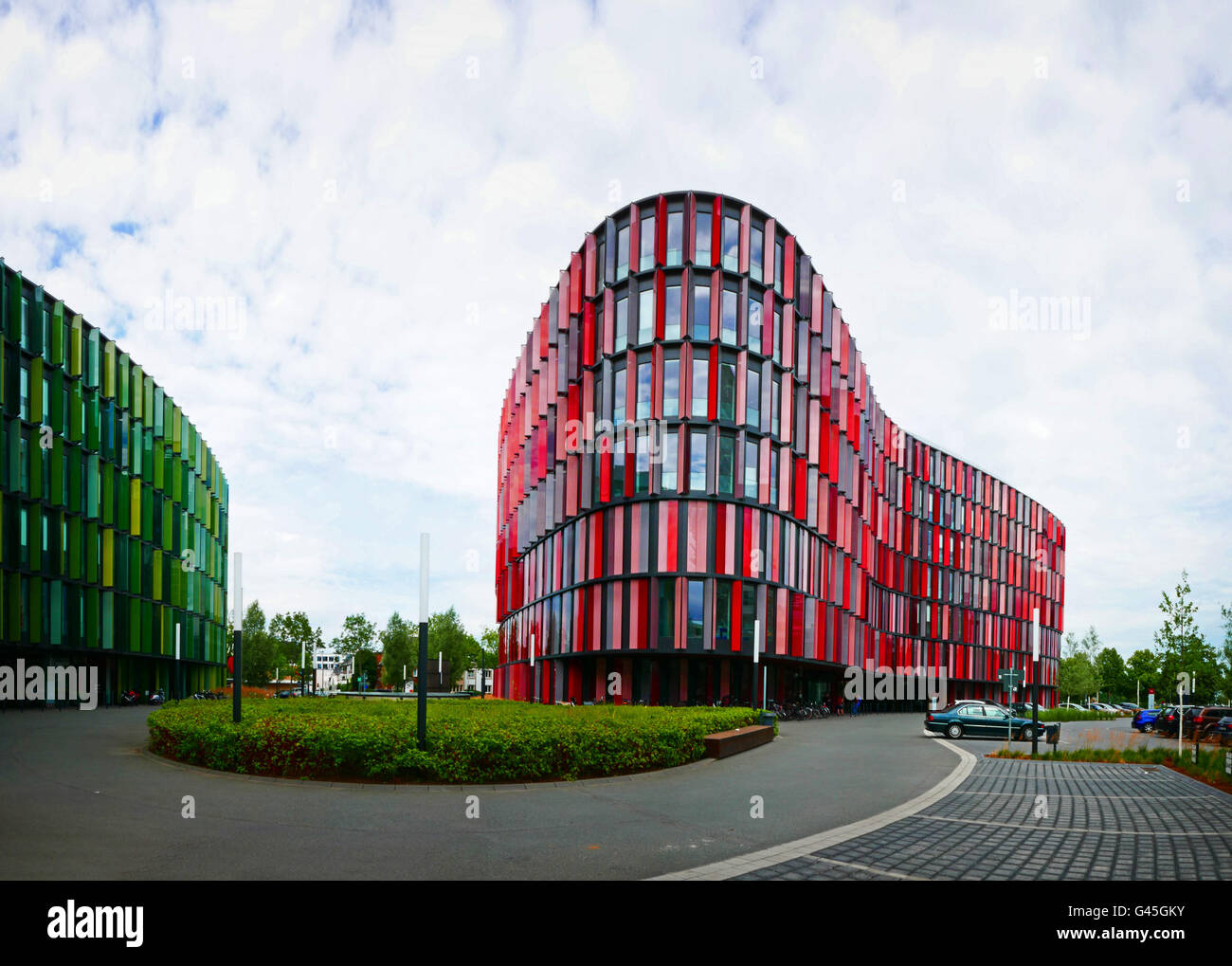Europe Germany Cologne Oval Office moulder office building - Stock Image