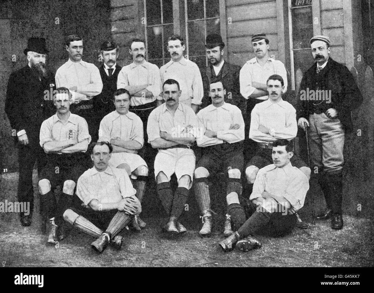 Soccer - English League Team - Stock Image