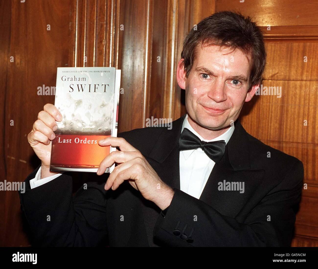 Graham Swift/Booker winner - Stock Image