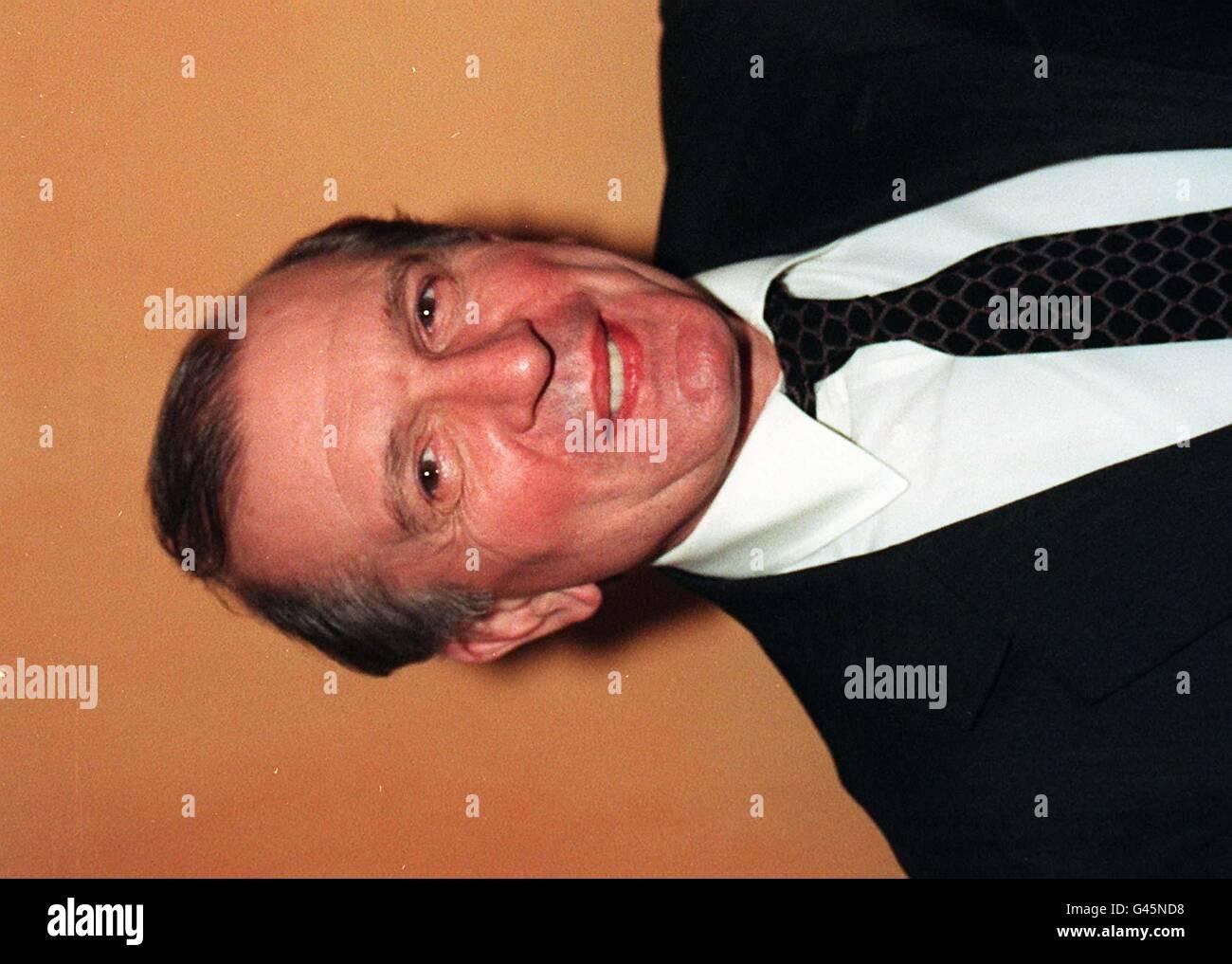 BIRTHDAY Nigel Dempster - Stock Image