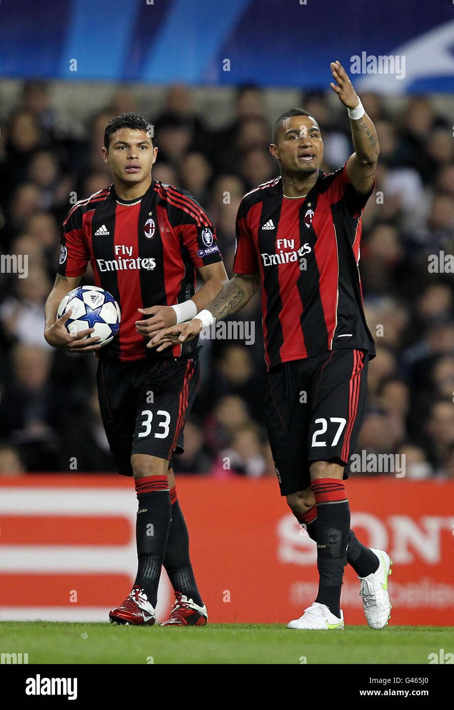 Soccer - UEFA Champions League - Round of 16 - Second Leg - Tottenham Hotspur v AC Milan - White Hart Lane - Stock Image