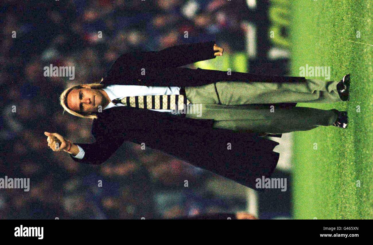 Rangers new signing Sebastian Rozental from Chile parades in front of supporters before tonight's (Thursday) - Stock Image