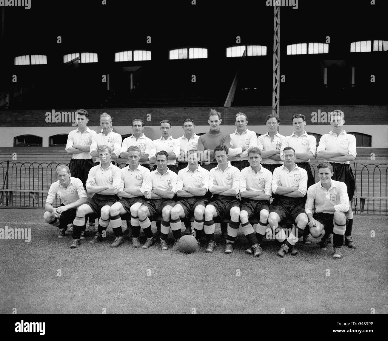 Soccer - League Division Two - Fulham Photocall - Craven Cottage Stock Photo