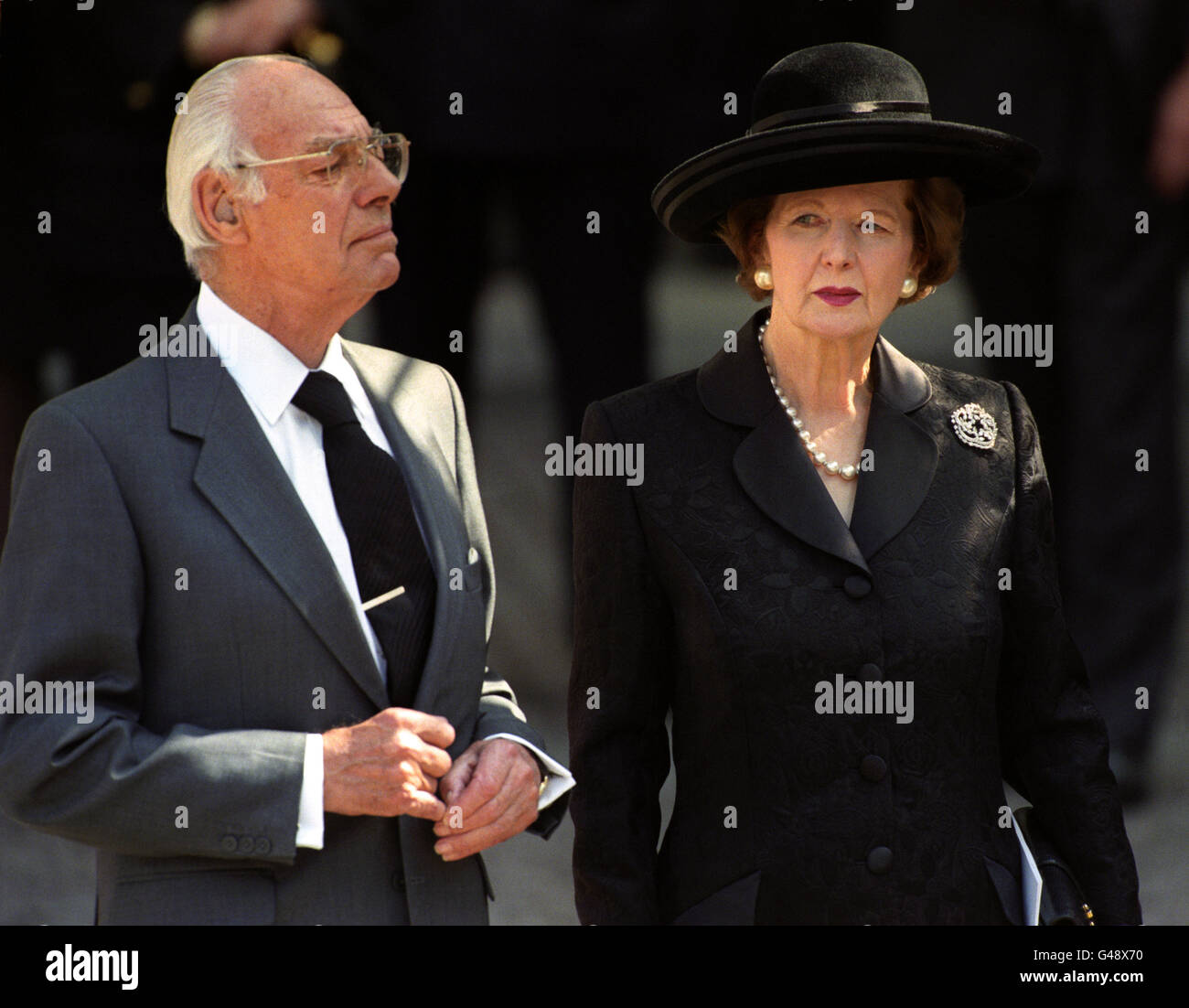 Princess Diana Funeral Westminster Abbey London 1997 Stock Photo Alamy