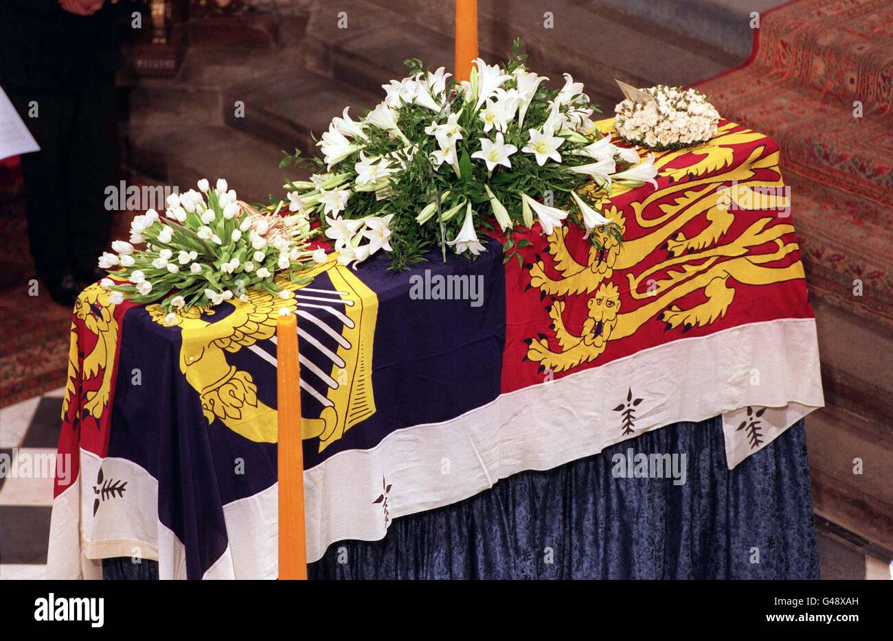 Princess Diana Funeral Westminster Abbey Stock Photos Princess