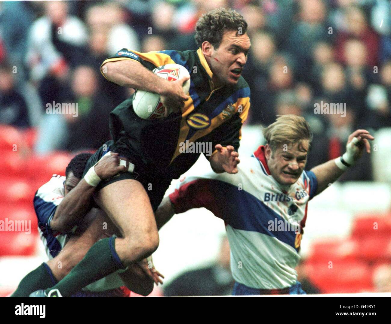 Rugby Eng/Aus Atcheson/Tallis - Stock Image