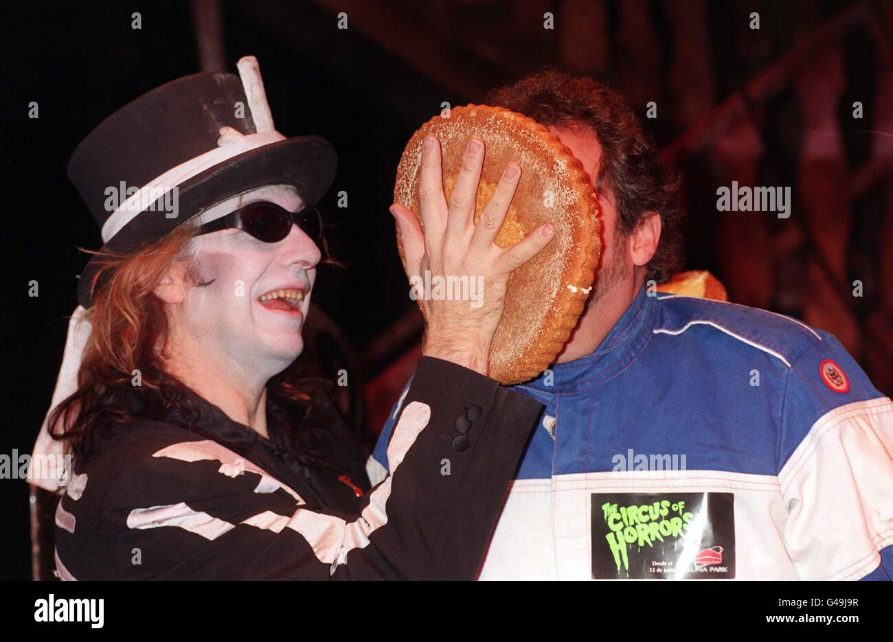 BEADLE/Pie in face 2 - Stock Image