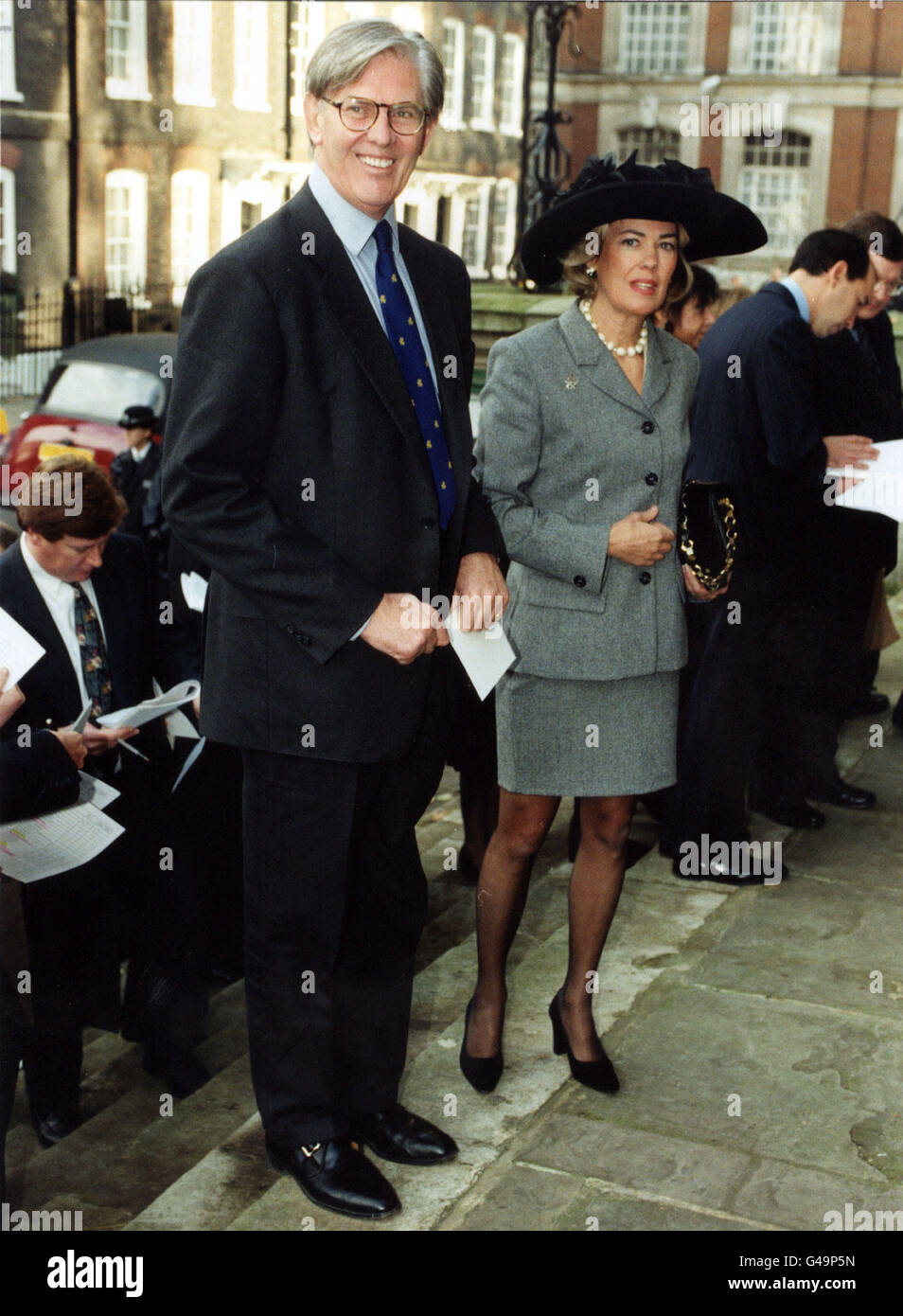 BILL CASH AND WIFE Stock Photo...