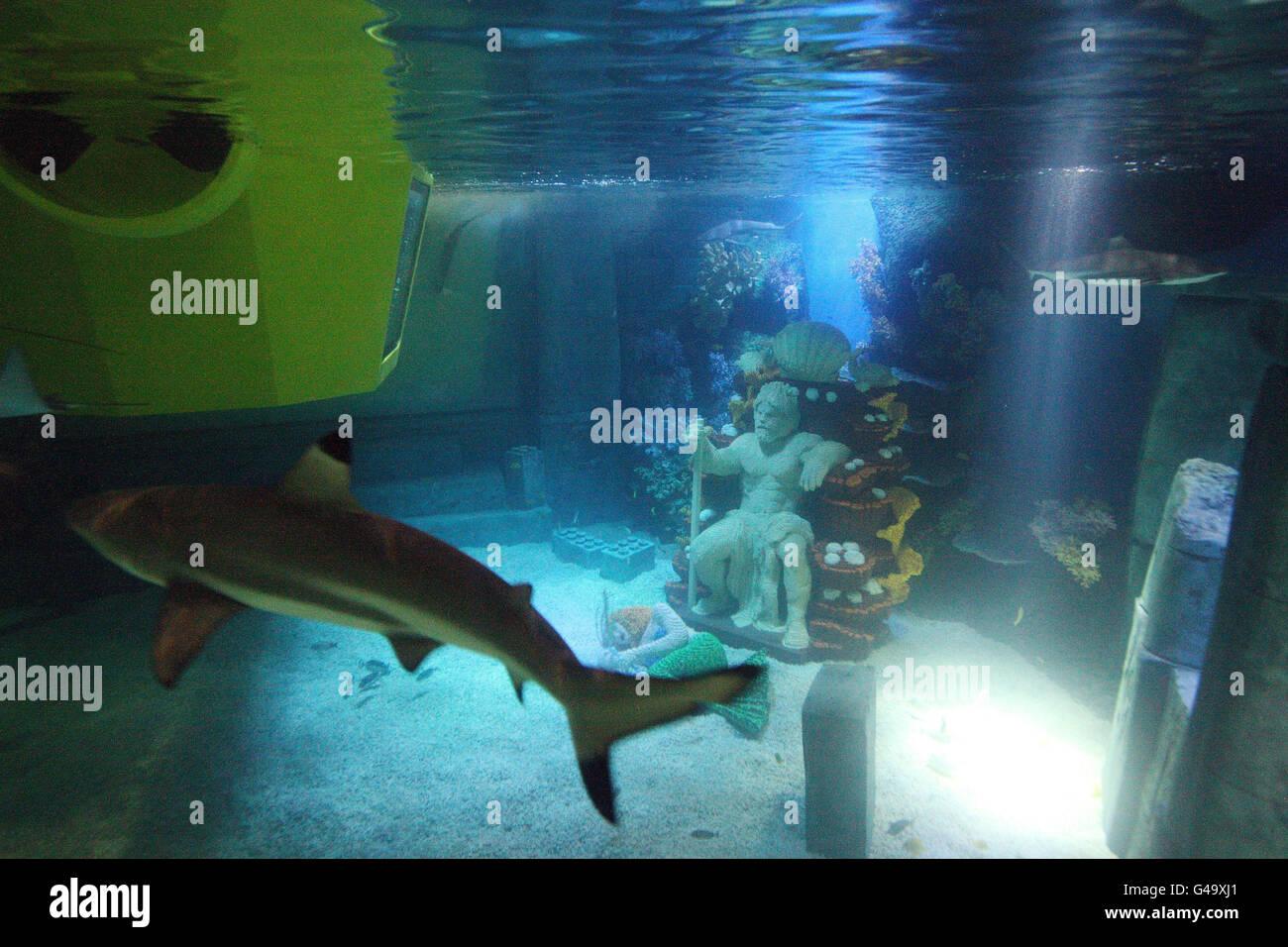 New Legoland Atlantis ride Stock Photo