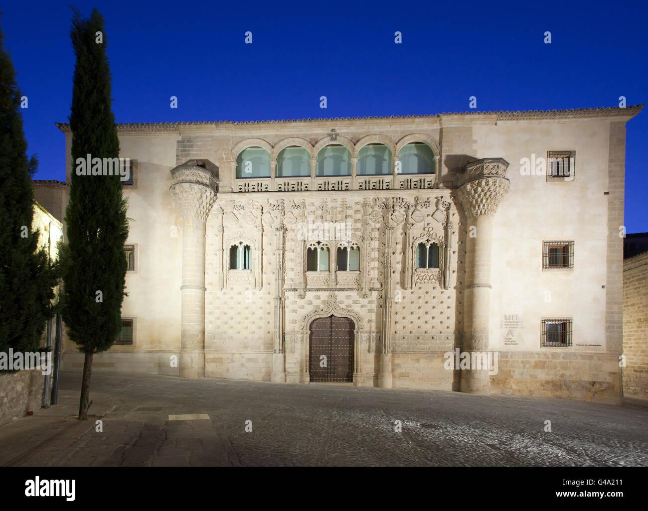 Universidad Internacional de Andalucía, Baeza, Andalusia, Spain, Europe - Stock Image