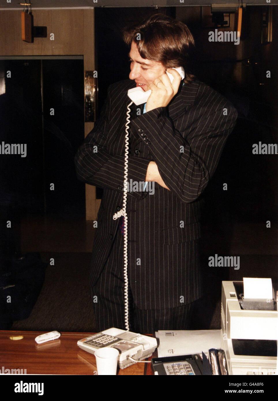 Pa News Photo 3 10 97 Tv Presenter Jonathan Ross At The Regent Stock Photo Alamy