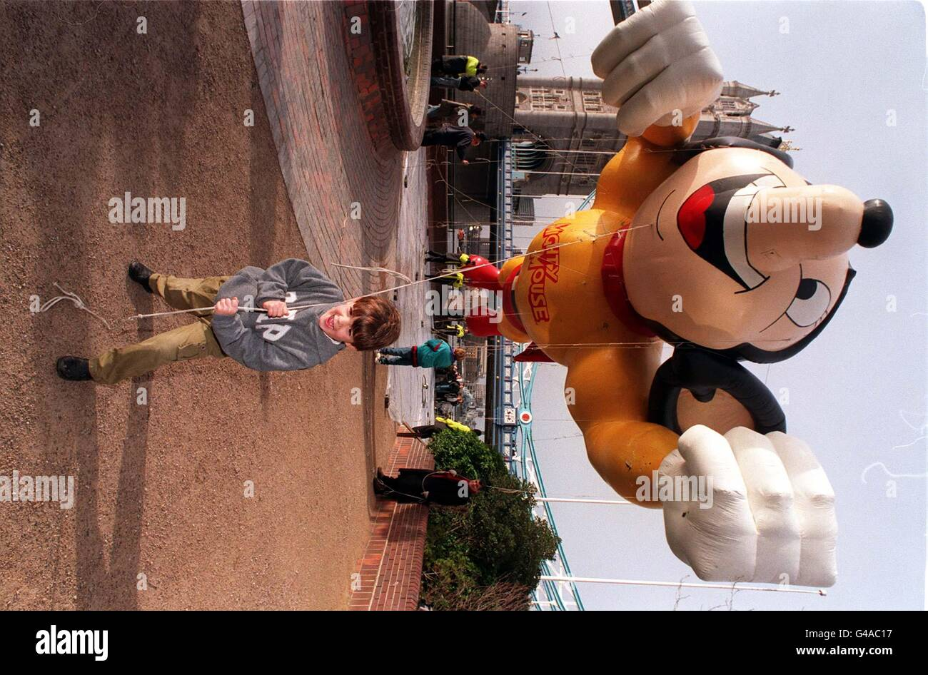 LONDON PARADE Mighty Mouse 2 - Stock Image