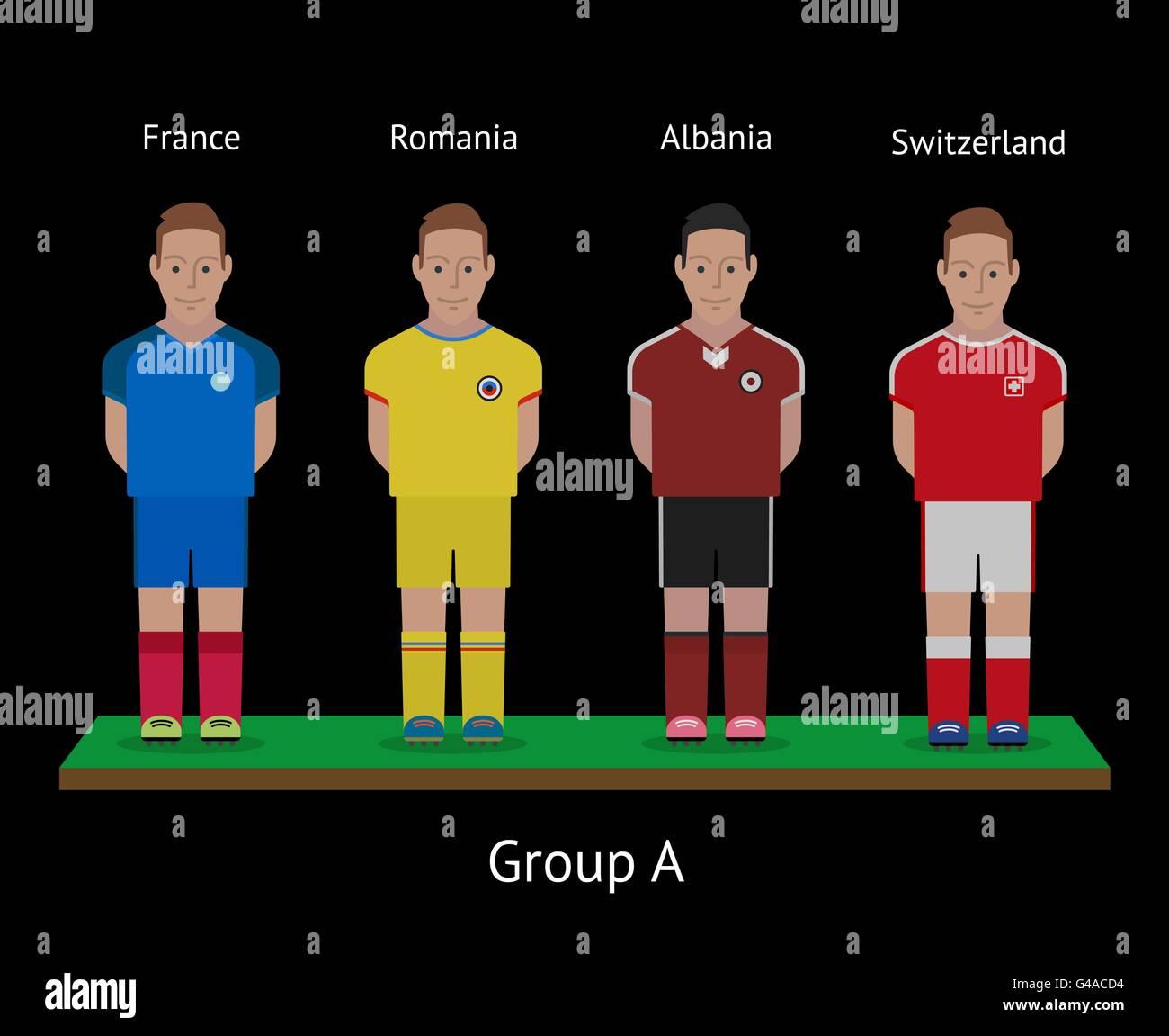 014c7e912 Football players. Soccer teams. France