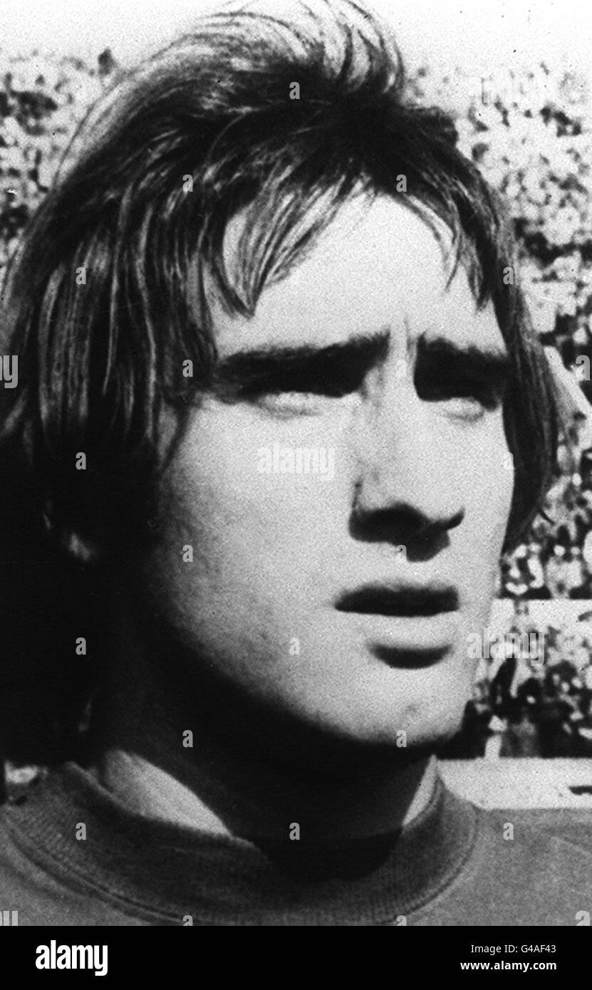 PA NEWS PHOTO 15/11/76  FRANCESCO GRAZIANI  MEMBER OF THE ITALIAN WORLD CUP SQUAD FOR WEDNESDAY'S VITAL QUALIFYING Stock Photo