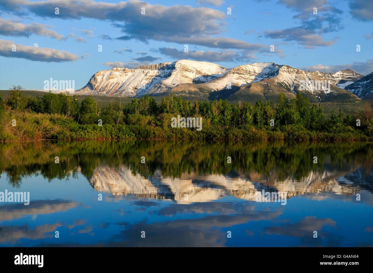 Sofa Mountain, Waterton Lakes National Park, Alberta Stock Photo