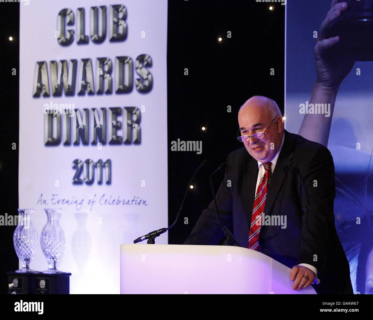 Rugby Union - Scottish Rugby Union Club Awards Dinner - Murrayfield - Stock Image