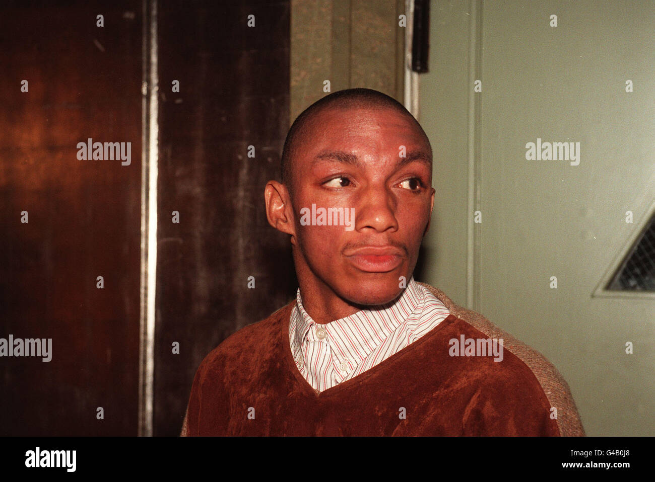 TRICKY AT THE Q AWARDS - Stock Image