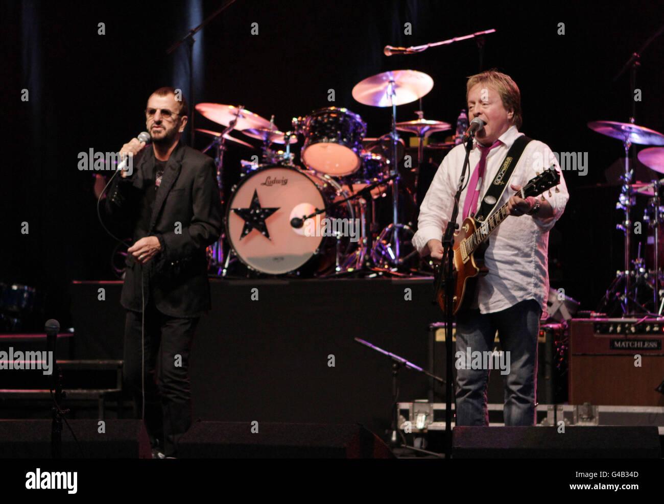Ringo Starr gig - Surrey - Stock Image