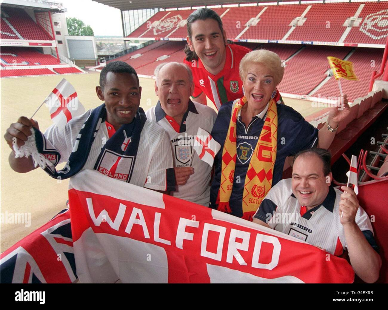 EASTENDERS World Cup 1 Stock Photo