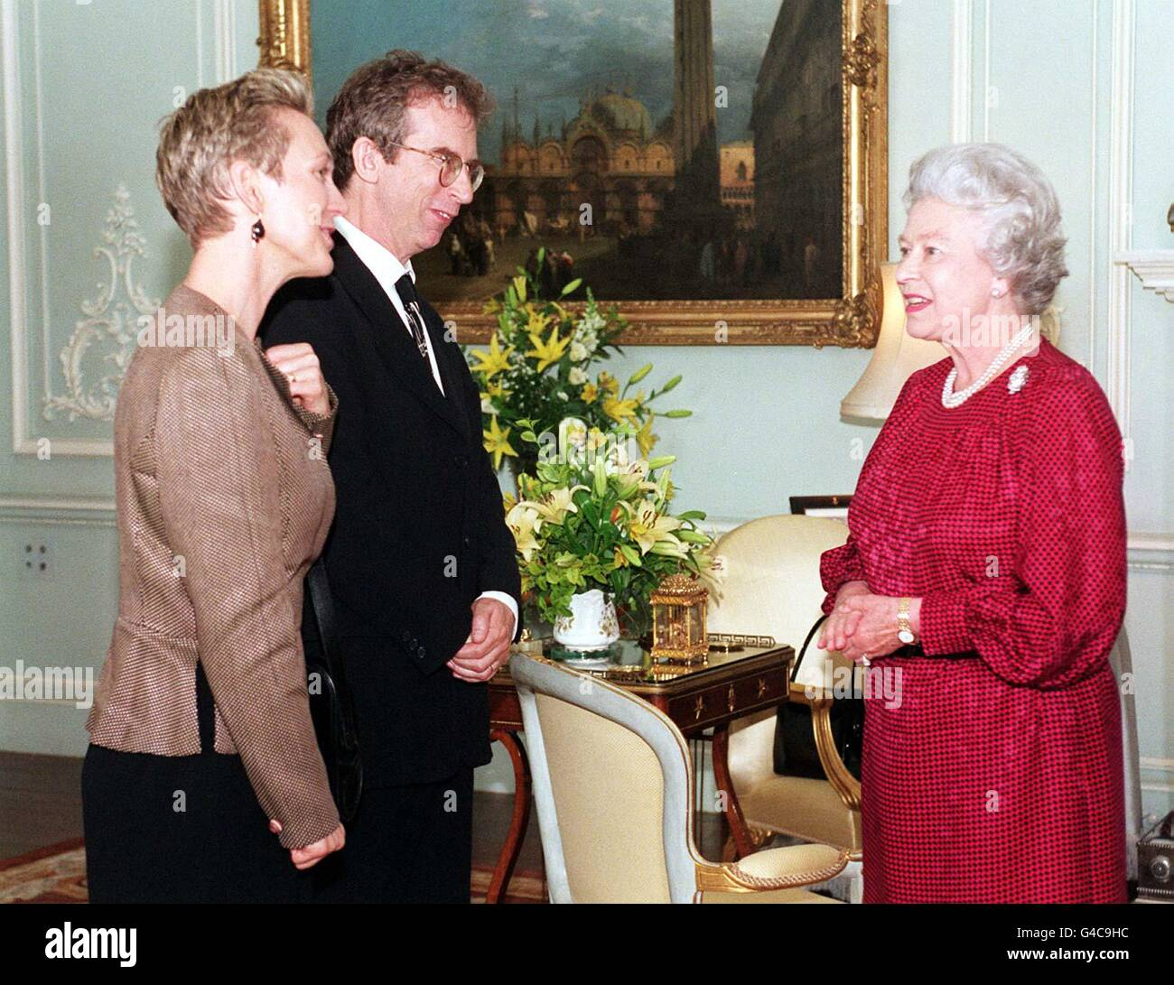 QUEEN Peter Carey - Stock Image
