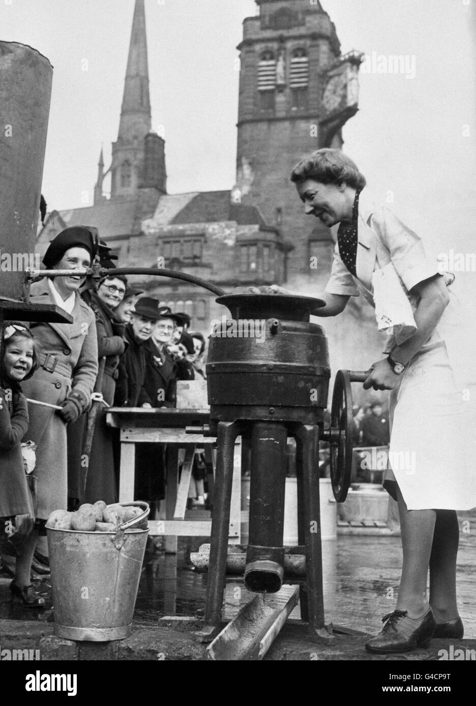 Food - Semi-Mobile Canteen - Coventry - Stock Image