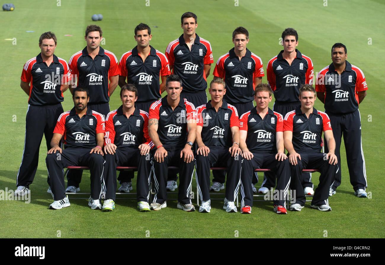 Cricket - International Twenty20 - England v Sri Lanka - England Nets Session - Day Two - The County Ground Stock Photo