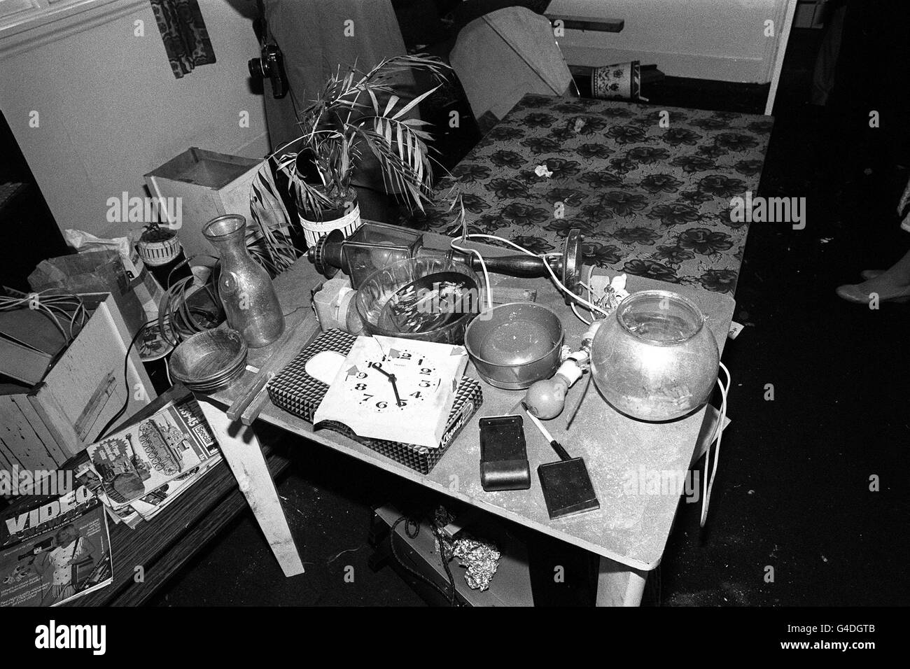 Pa News Photo 15 11 83 The Second Floor Flat Of Mass Murderer Dennis Stock Photo Alamy