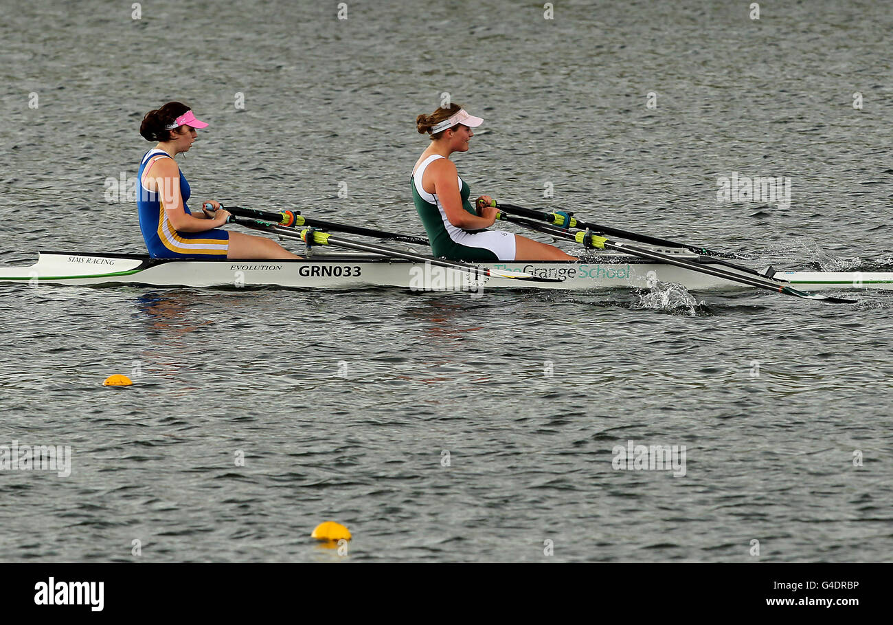 Rowing - British Rowing Championships 2011 - Day Two - Holme Pierrepont - Stock Image