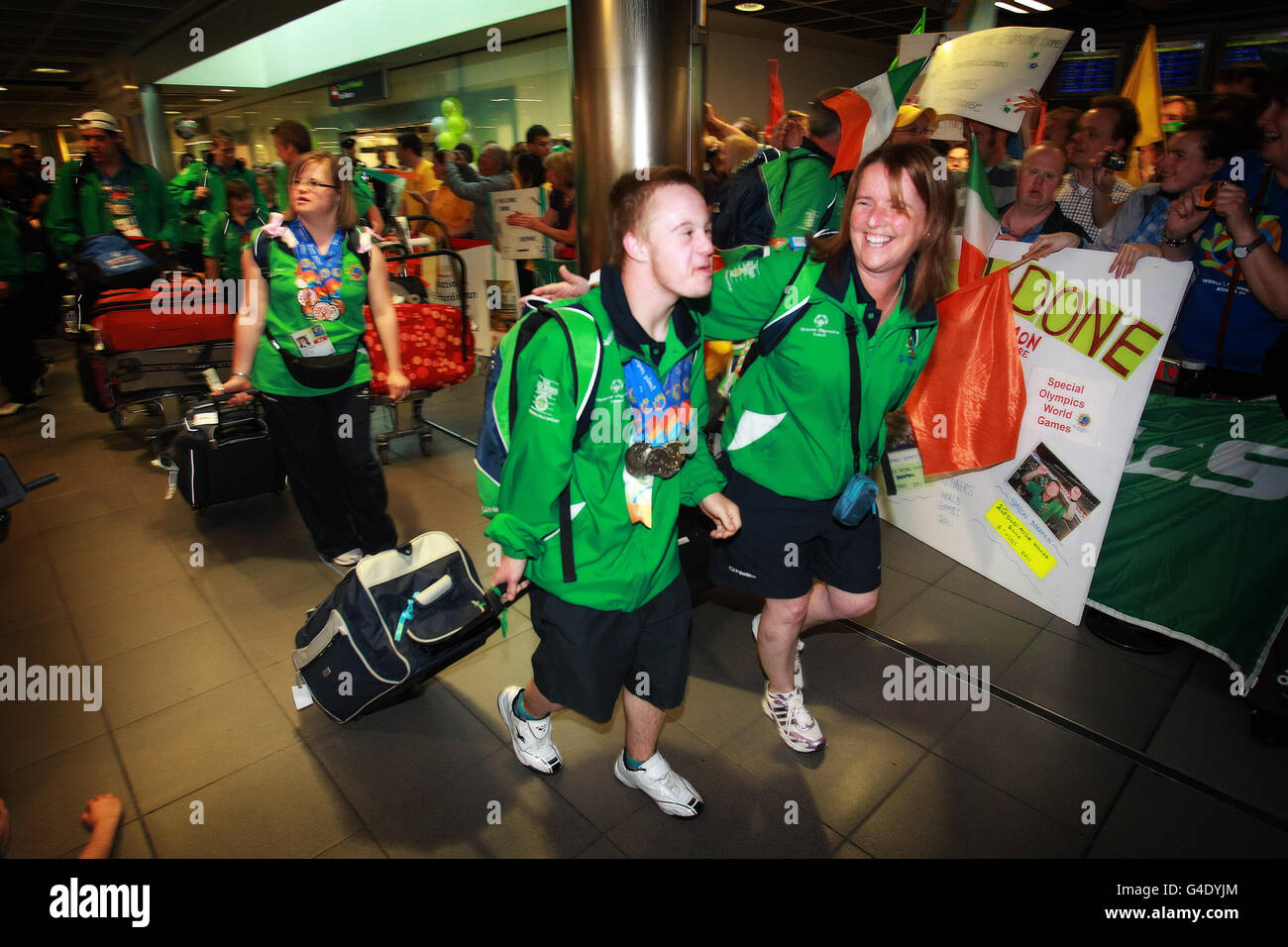 2011 Special Olympics World Summer Games - Stock Image
