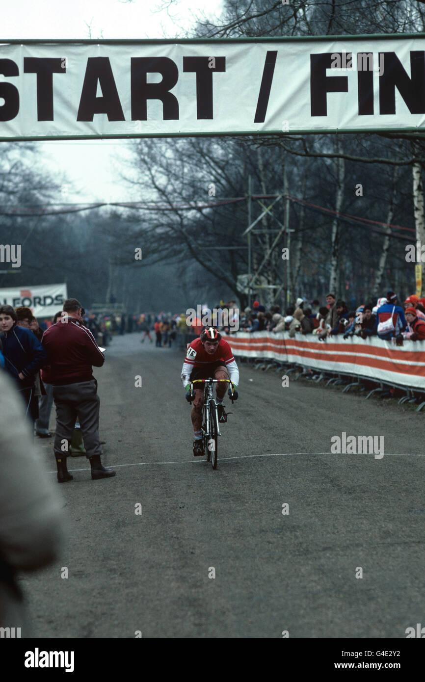 Cycling - Cyclo-Cross World Championships - Birmingham - Stock Image