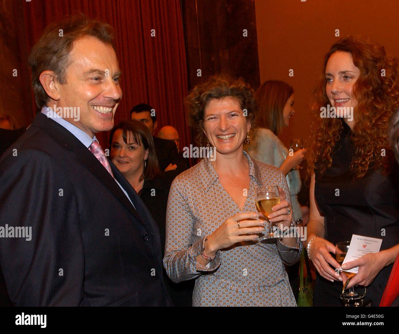 Tony Blair - Newspaper Press Fund 40th Anniversary - Stock Image