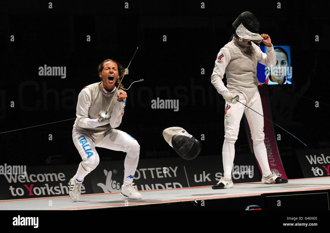 Ellen Preis foil fencer, Olympic champion and 3-time world champion