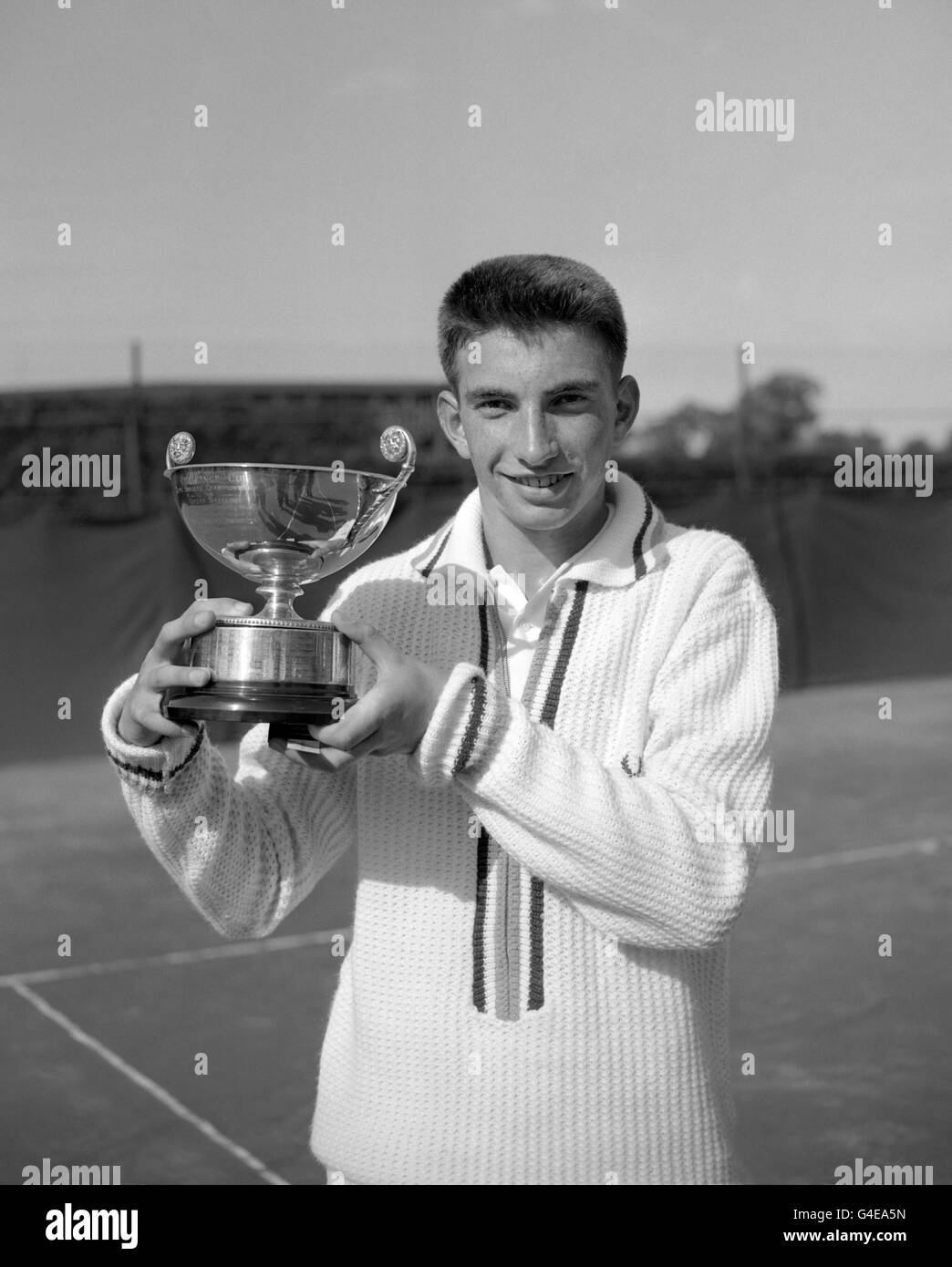 Tennis - Junior Championships of Great Britain - Boy's Singles - Wimbledon - Stock Image