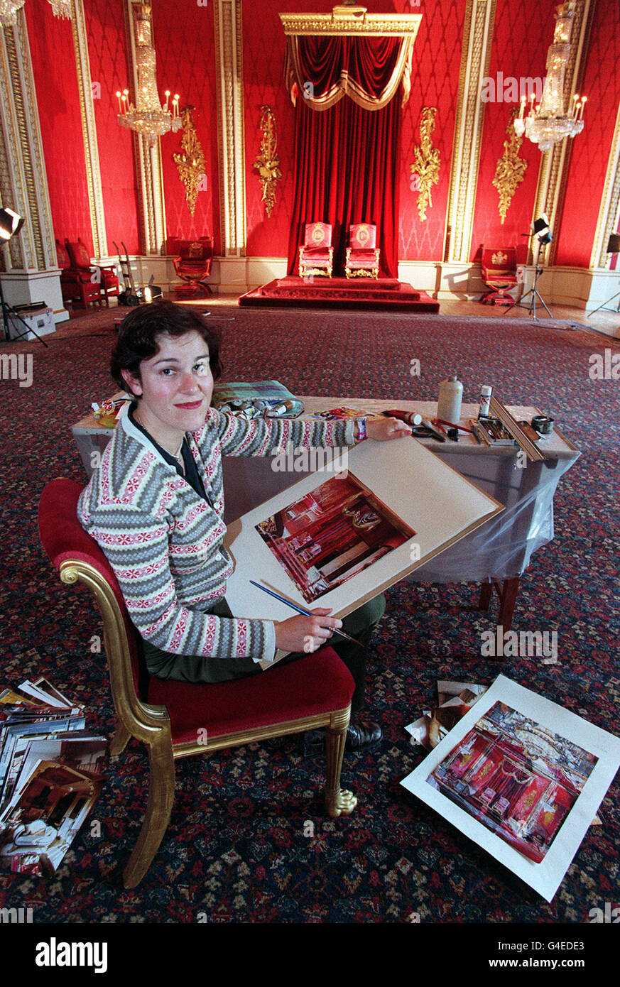 ROYAL poster artist Stock Photo