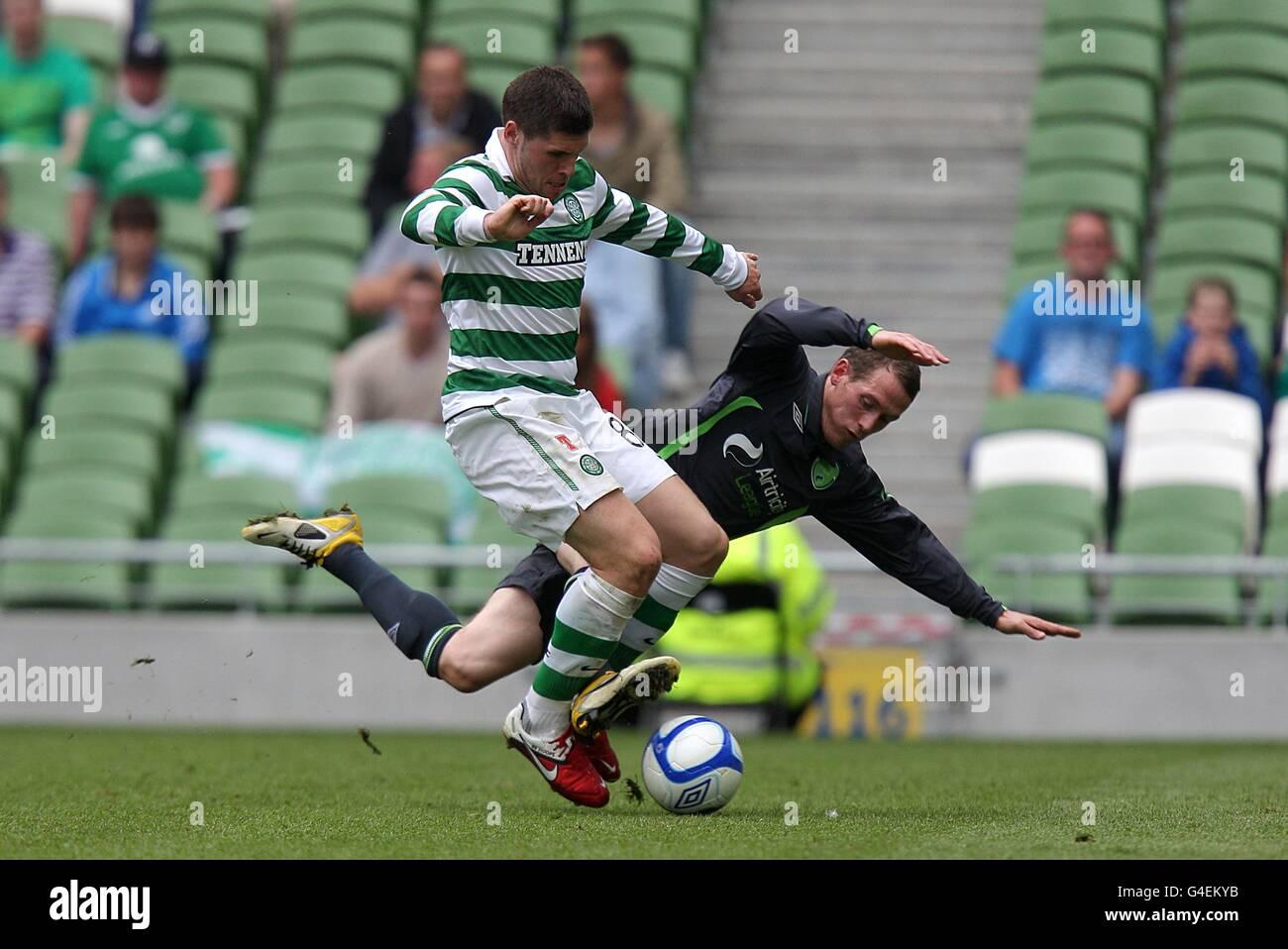 Soccer - Pre Season Friendly - The Dublin Super Cup - Airtricity XI v Celtic - Aviva Stadium - Stock Image