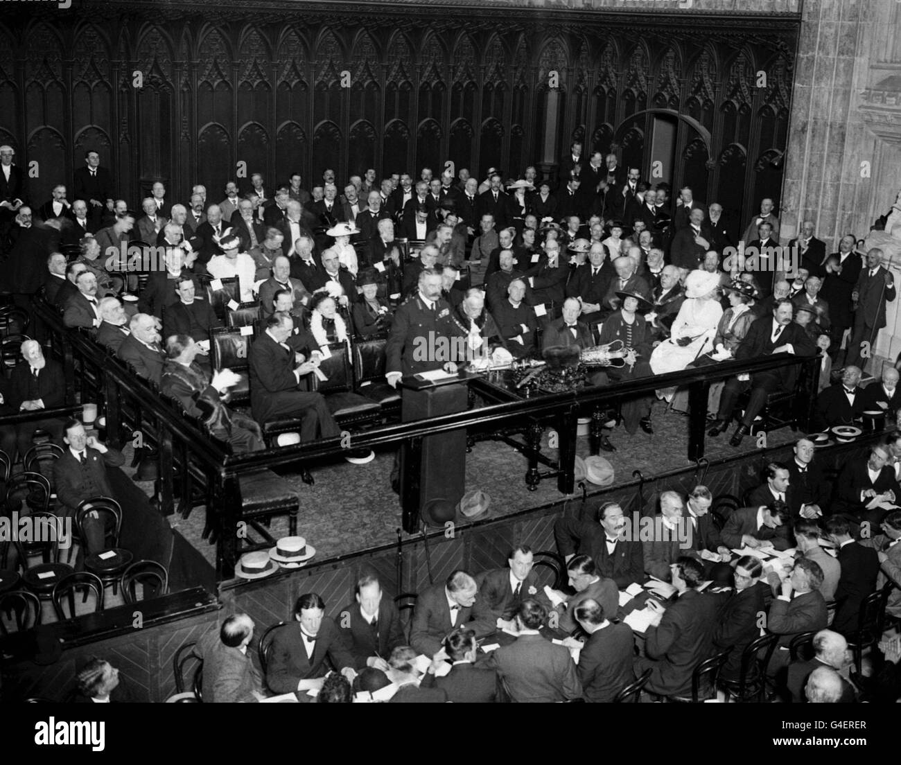World War One - Lord Kitchener Recruitment Campaign - Guildhall, London - Stock Image