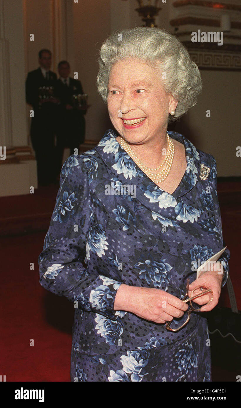 Royalty - Prince Charles 50th Birthday Party - Buckingham Palace Stock Photo