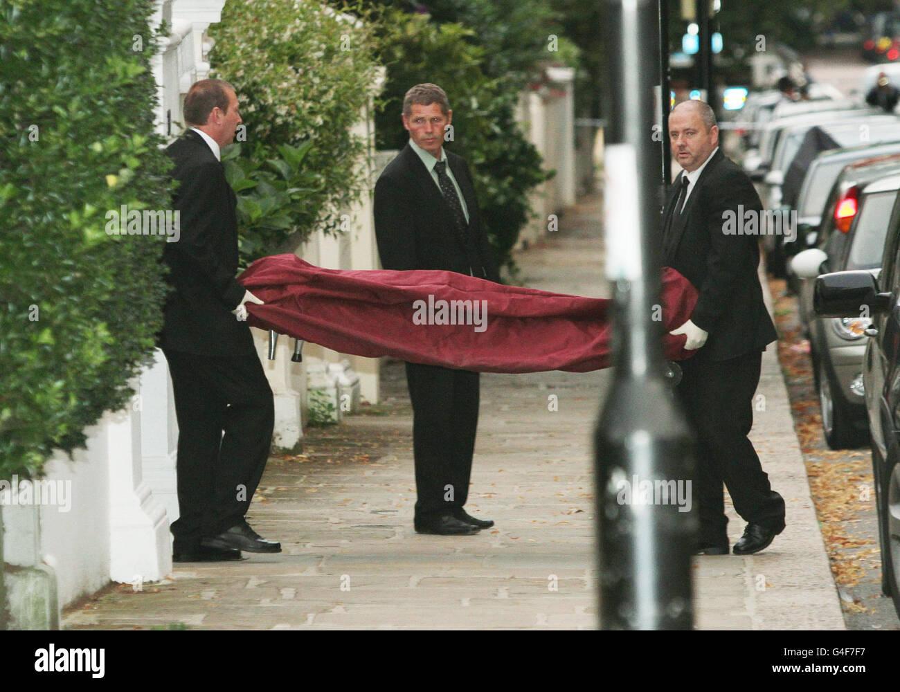 Amy Winehouse Death Stock Photo Alamy