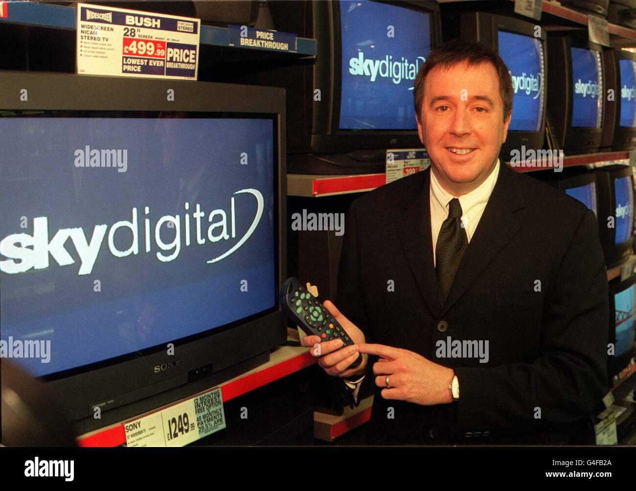 DIGITAL TV/Booth - Stock Image