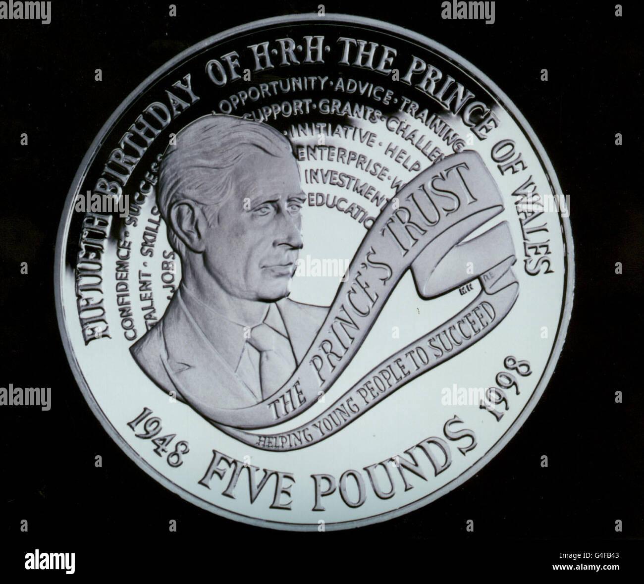 ROYAL Coin Stock Photo