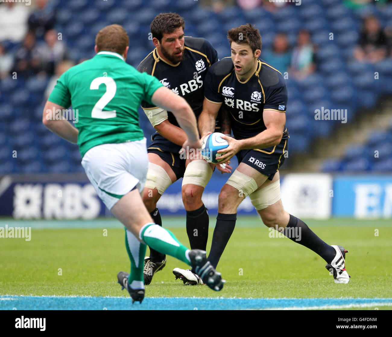 Scotland V Australia World Rugby: Jim Cronin Stock Photos & Jim Cronin Stock Images
