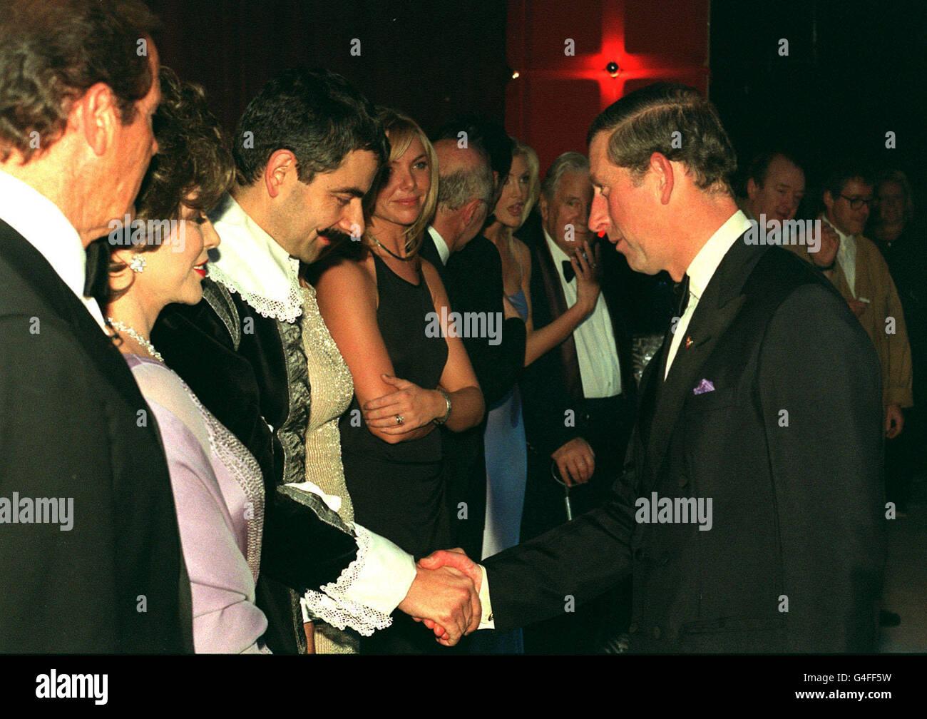 PRINCE CHARLES 50TH BIRTHDAY/Rowan Atkinson Stock Photo
