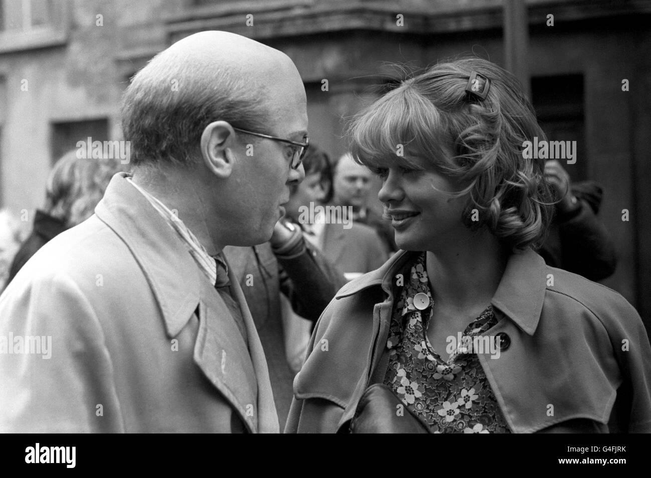 Film - '10 Rillington Place' - Notting Hill, London - Stock Image