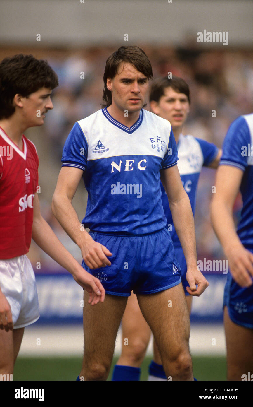 Soccer - Canon League Division One - Nottingham Forest v Everton - City Ground - Stock Image