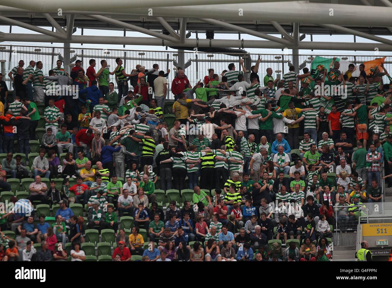 Soccer - Pre Season Friendly - The Dublin Super Cup - Inter Milan v Celtic - Aviva Stadium - Stock Image