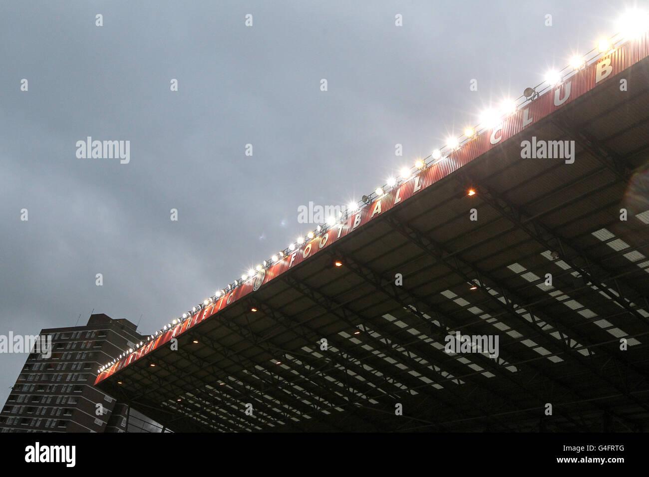 Soccer - Pre Season Friendly - Charlton Athletic v FC Den Bosch - The Valley Stock Photo
